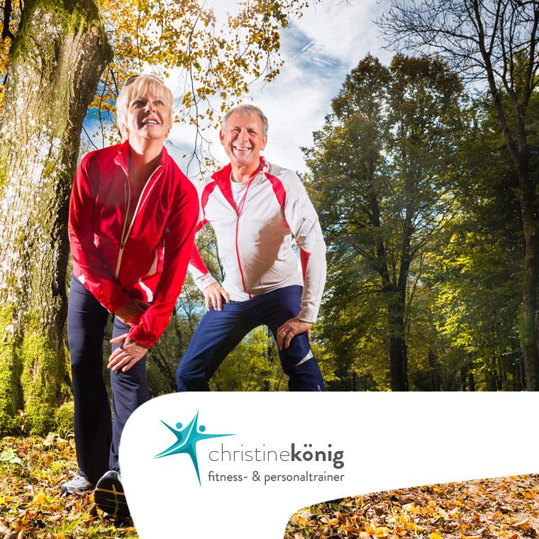 Christine König - Personal Trainer, Leistungen - Partnertraining - Übersicht