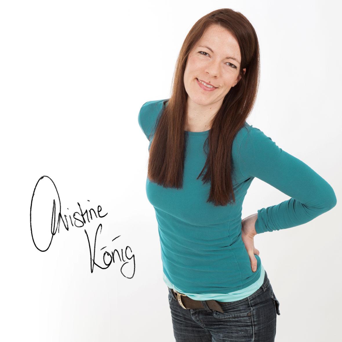 Christine König - Personal Trainer, Signatur - Slider