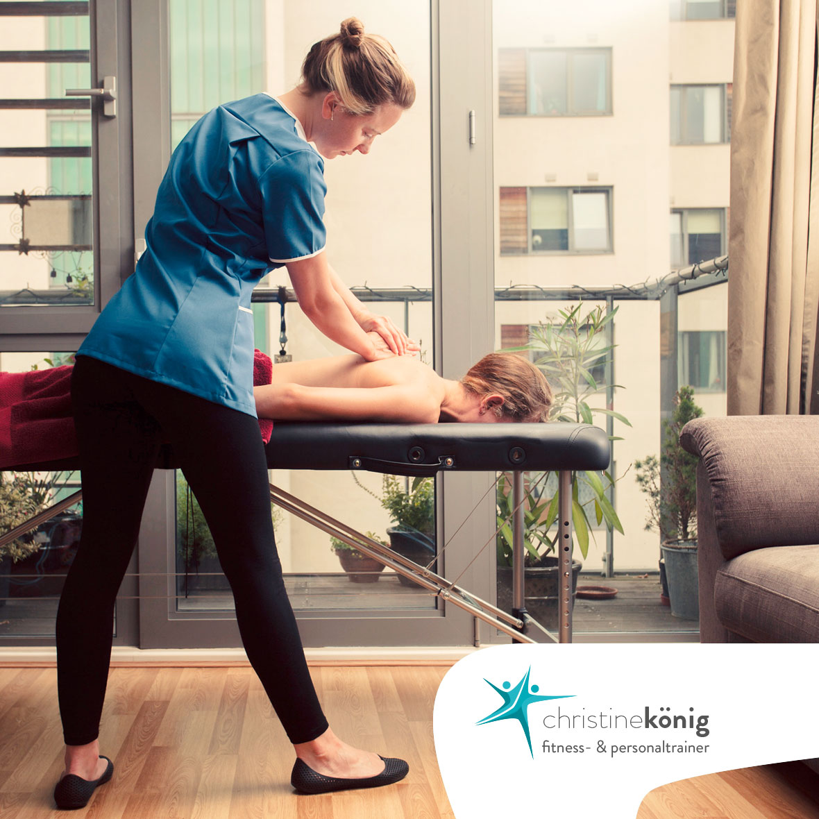 Christine König - Personal Trainer, Mobile Massage - Slider