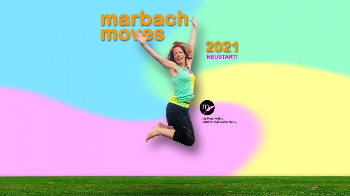 Marbach Moves 2021 - Stadtmarketing Schillerstadt Marbach e.V. und Personaltrainerin Christine König